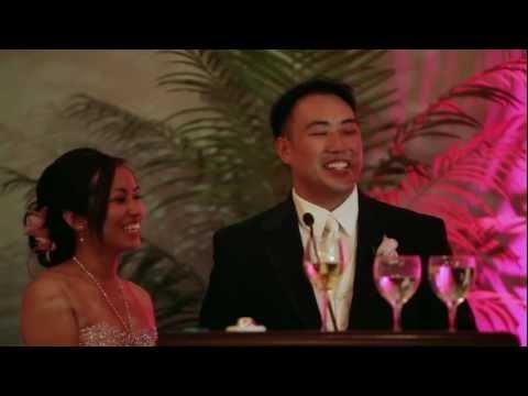 Video Highlight reel of Arthur and Emily's wedding in Calgary at the Fairmont Palliser.