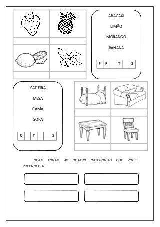 Atividades para silabicos