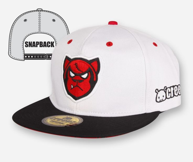 Snapback Big Gorilla White - creepzshop