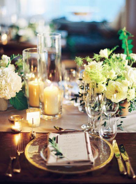 Dekoracje ślubne ze świecami 2017! Blask, światało i urok zagwarantowane! Image: 2