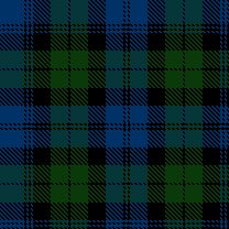 "McGee tartan (taken from spinoff MacKays.)  -Notoriously stubborn, the McGhies actually never ""played ball"" within the clan system, each family forging its own heralds, land, etc.  Thus, they never became an official clan and are considered a MacKay sept."