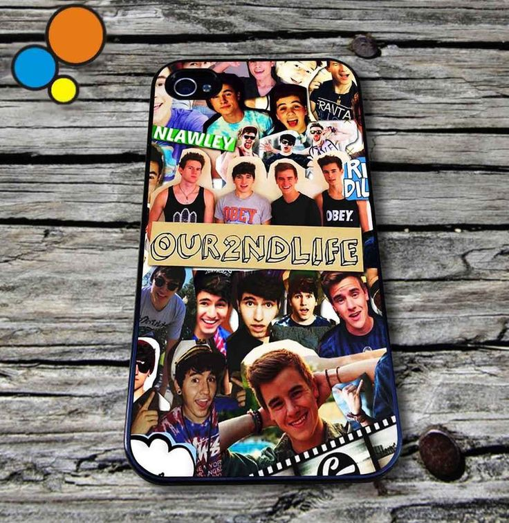 Our second life collage Case for iPhone iPod case O2L iPhone Case caylen franta