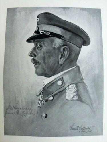 RARE-ORIG-1917-GERMAN-WWI-MILITARY-IMPERIAL-ARMY-WAR-ART-BOOK-BY-ERNST-VOLLBEHR