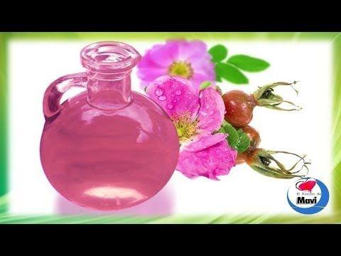 Como hacer aceite de rosa mosqueta casero - Usos y propiedades - YouTube