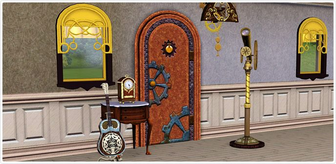 Steampunk Store The Sims 3 Sims 3 Sets Steampunk