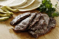 Tacos de Carne Asada -  If you think making Mexican food at home is too much trouble, think again. Nothing could be simpler than grilled Tacos de Carne Asada. #CincodeMayo