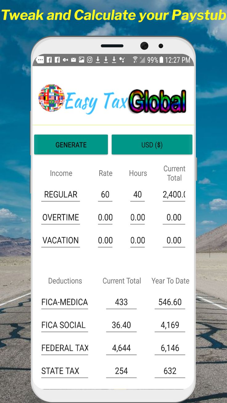 Payslip paystub paycheck generator good for employees and