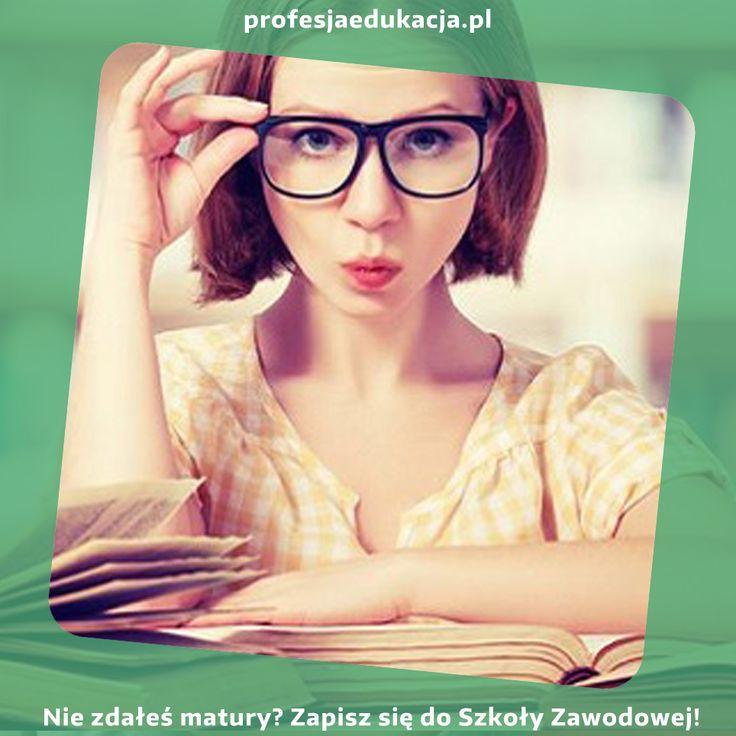 Czy wciąż trapi Cię niezdana matura? Zapisz się do #Szkoły #Zawodowej #ProfesjaEdukacja, która pozwoli Ci zdobyć upragniony zawód w ciągu trzech lat!