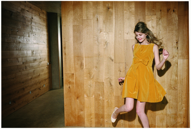 Orla Kiely campaign shoot AW 10 Photographed by Venetia Scott