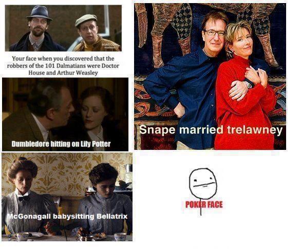 Dumbledore one pretty disturbing