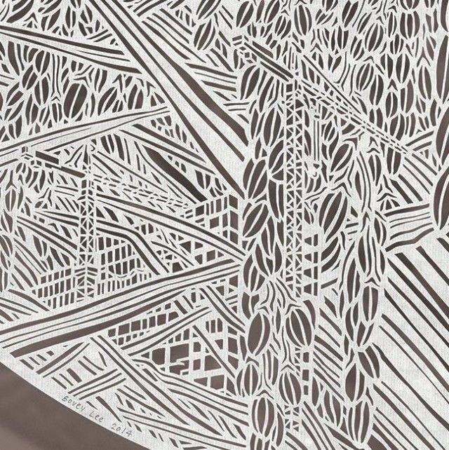Best Inspiration Bovey Lee Images On Pinterest Cut Paper - Incredible intricately cut paper designs bovey lee
