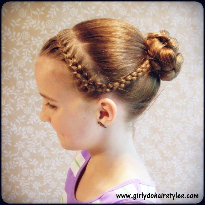 Fine 1000 Ideas About Gymnastics Hairstyles On Pinterest Gymnastics Short Hairstyles For Black Women Fulllsitofus