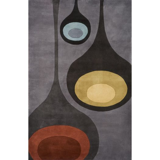 Found it at AllModern - New Wave Steel Area Rug