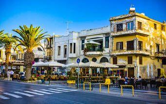 Traditionsstadt Rethymno auf Kreta, Griechenland