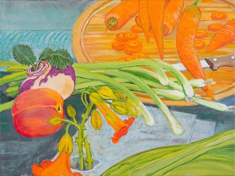 Chopping Carrots by Christiane Kubrick