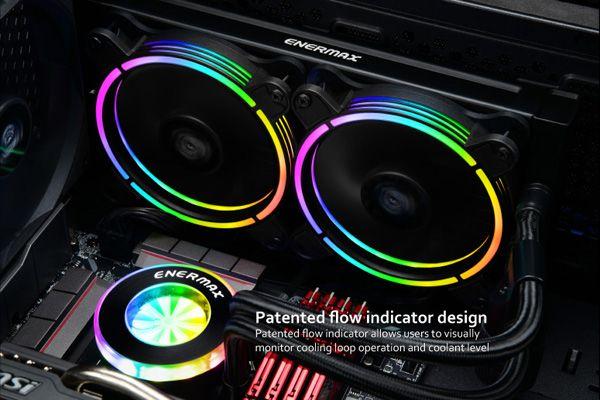 Enermax Launches Liqfusion The Brilliant Rainbow Rgb Liquid
