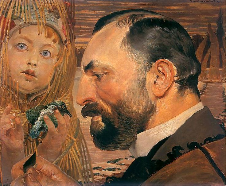 Jacek Malczewski  – Portrait of Feliks Jasieński 1903