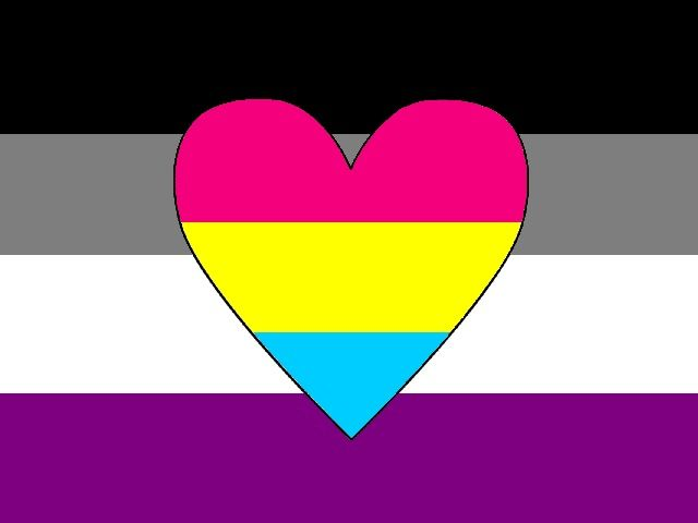 Panromantic Asexual flag