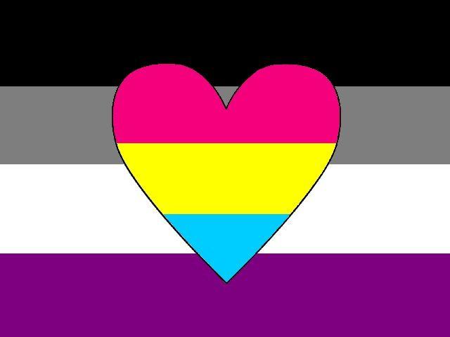 Panromantic Asexual flag