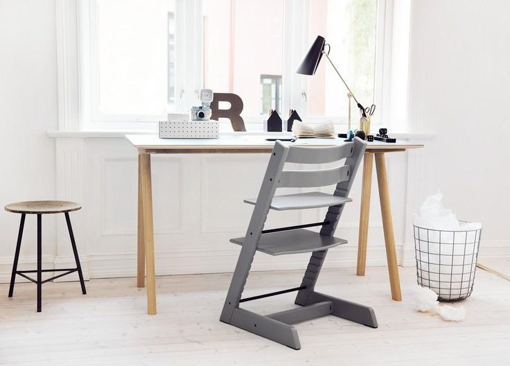 Grows with your child from mashed carrots to college. Stokke Tripp Trapp Chair