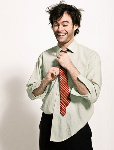 Bill Hader. I've always had a thing for men with dark hair who can make me laugh. Mmmm nothing is sexier than funny!