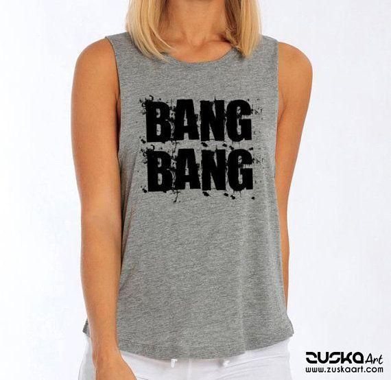 3d805efda3569 BANG BANG Women Sexy and Flowy Muscle Tank Top Beach