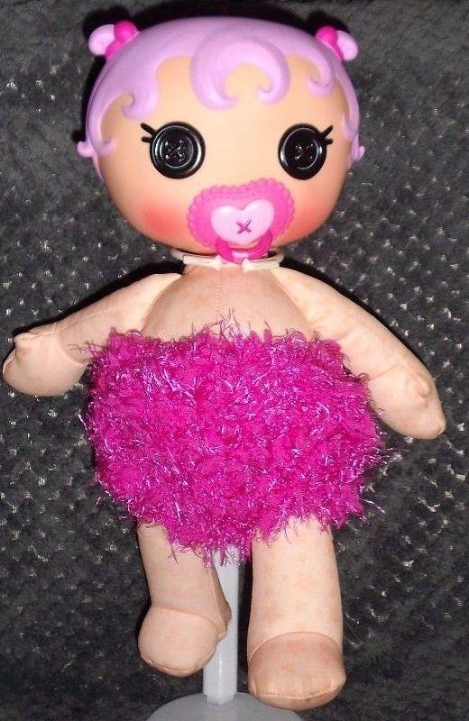 """""""Crochet hot pink diaper"""" dolls clothes fits LalaLoopsy BABIES     eBay"""