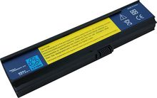 Laptop Battery Pros - 6-Cell Lithium-Ion Battery for Select Acer Aspire Laptops - Black