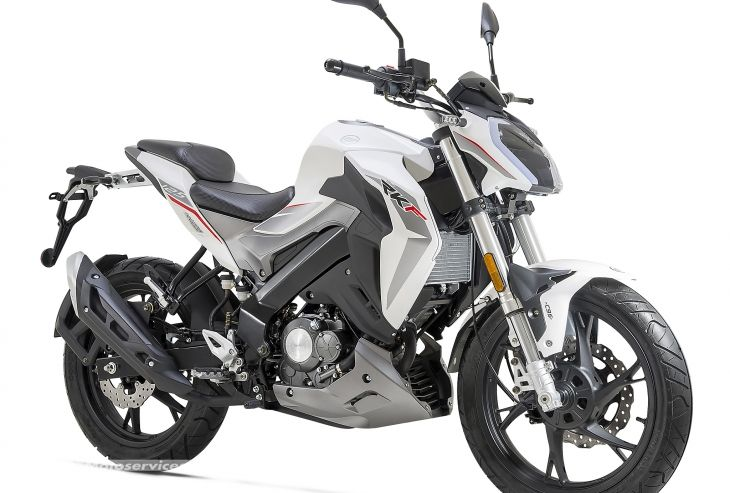 Presentation De La Moto 125 Keeway Rkf 125 Moto 125 Harley Moto