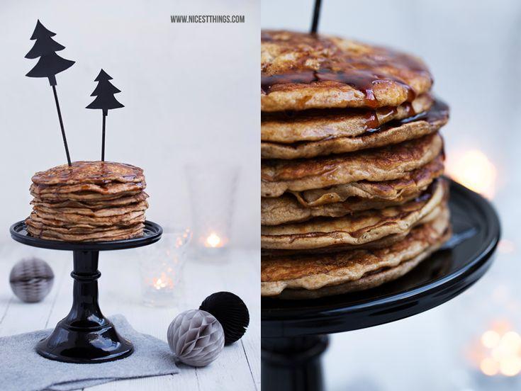 * Nicest Things: Weihnachtsfrühstück: Pancakes, Glögg und gebrannte Mandeln