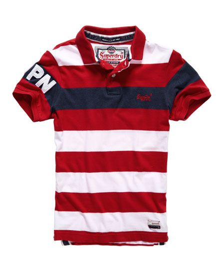 Superdry Polo Hoopstripe Hit
