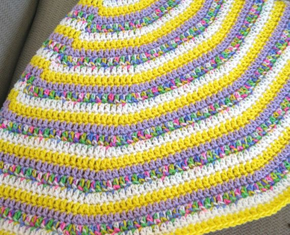 Easy Crochet Round Afghan Pattern Pdf Vortex Crochet