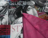 Manteau fille 4 ans multicolore col rond doublé rose : Mode filles par cousumains