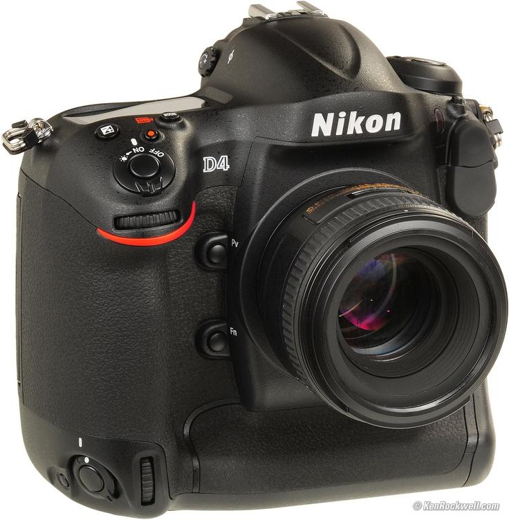 Nikon D4 6,000.00 Nikon d4s, Nikon d4, Camera nikon
