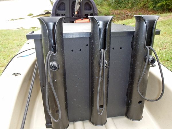 Secure Your Investment, cheap DIY to keep those rods and reels safe while kayak fishing.