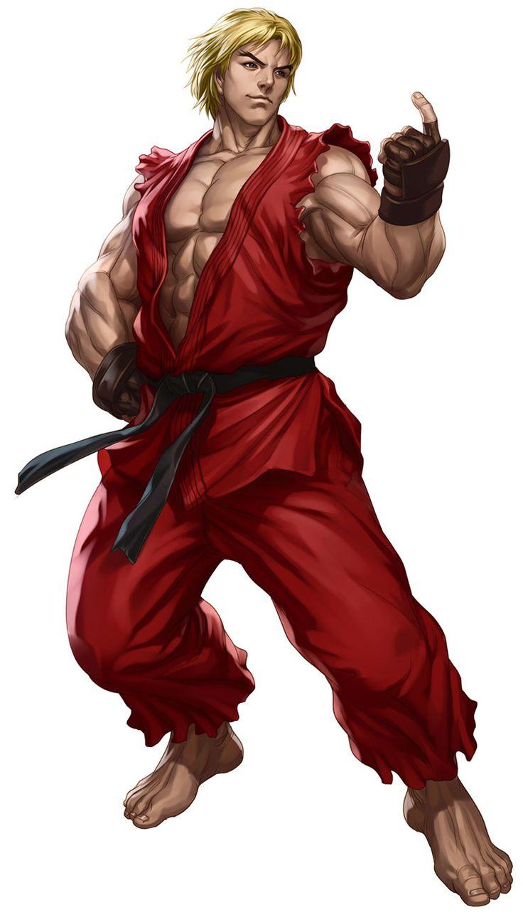 Ken from Street Fighter III: Third Strike Online Edition