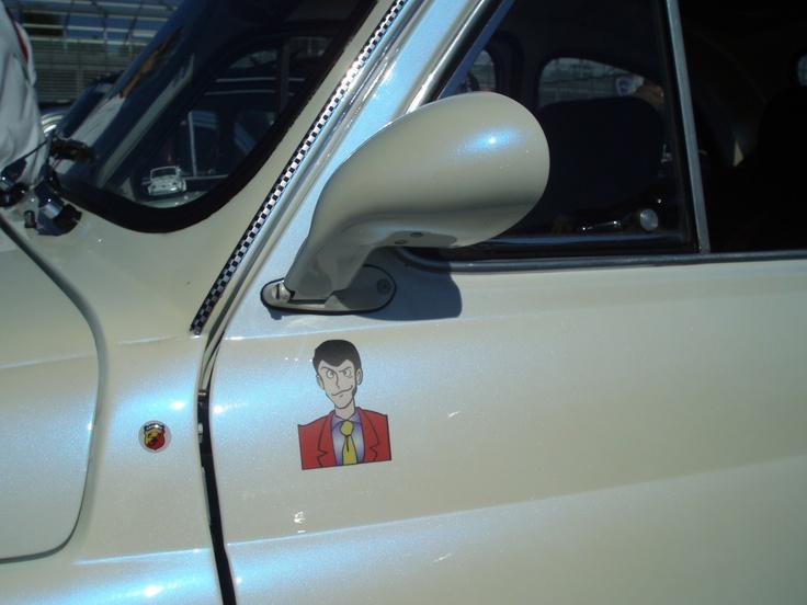 Lupin in Fiat 500