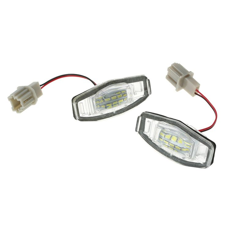 2x 18 LED License Plate Light Direct Fit For Acura TL TSX MDX Honda Civic Accord Sales Online - Tomtop