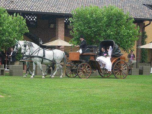 Carrozza con cavalli La Camilla