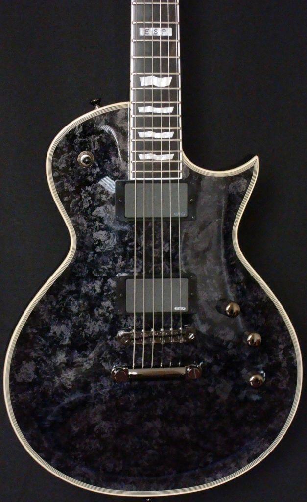 GuitarQueue - ESP Eclipse II Mystic Black Electric Guitar, $1,249.00 (http://guitarqueue.com/esp-eclipse-ii-mystic-black-electric-guitar/)