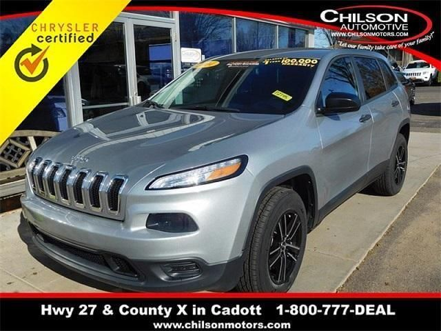 CPO 2014 Jeep Cherokee Sport for sale at Chilson's Corner Motors of Cadott in Cadott, WI for $17,984. View now on Cars.com.