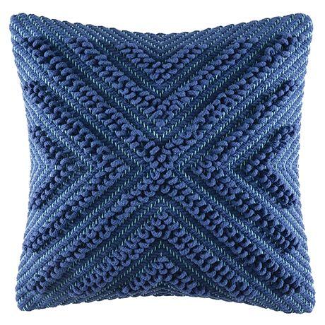 Cayto Cushion 50x50cm  Blue