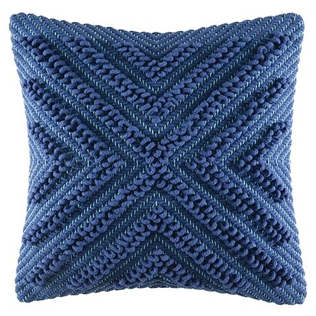Cayto Cushion 50x50cm  Blue