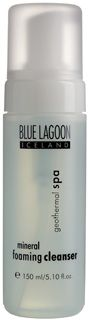 Mineral foaming cleanser - the absolute best skin care line from the Blue Lagoon Spa in Iceland