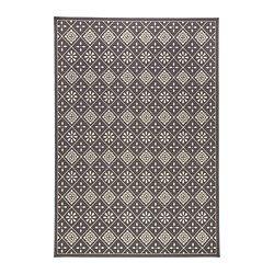 SNEKKERSTEN Teppich Kurzflor, grau - IKEA
