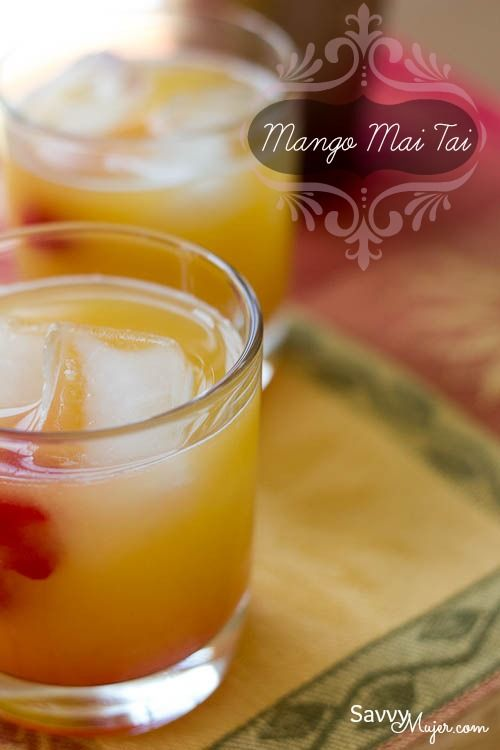 How about a Mango Mai Tai to celebrate National Rum Day.