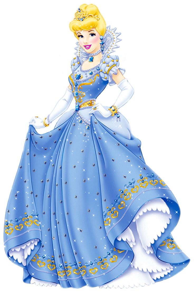Transparent Princess PNG Clipart: Disney Cinderella, Disney Princesses ...
