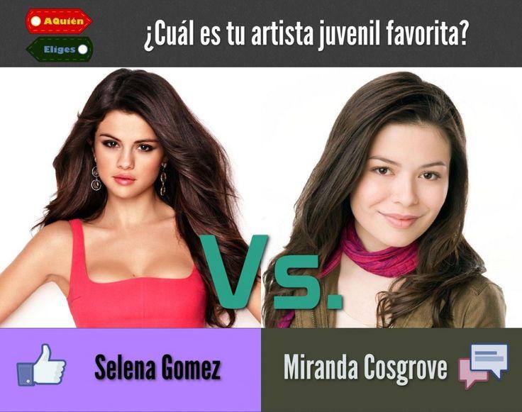 Selena vs. Miranda? Who is winning?