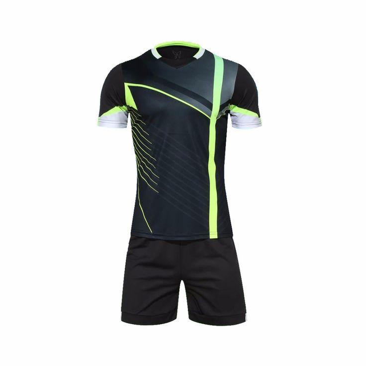 Рубашка Джерси спортивная бег бег обучение устанавливает комплекты футбол джерси футбольная команда Джерси Футболка A110