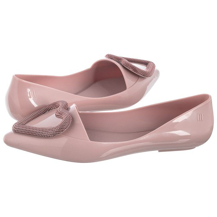 Baleriny Melissa Pointy Heart Ad 32785 52932 Pink Rose Pink Pink Rose Pointy